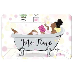 """""""Me Time"""" Inspirational Floor Mat"""